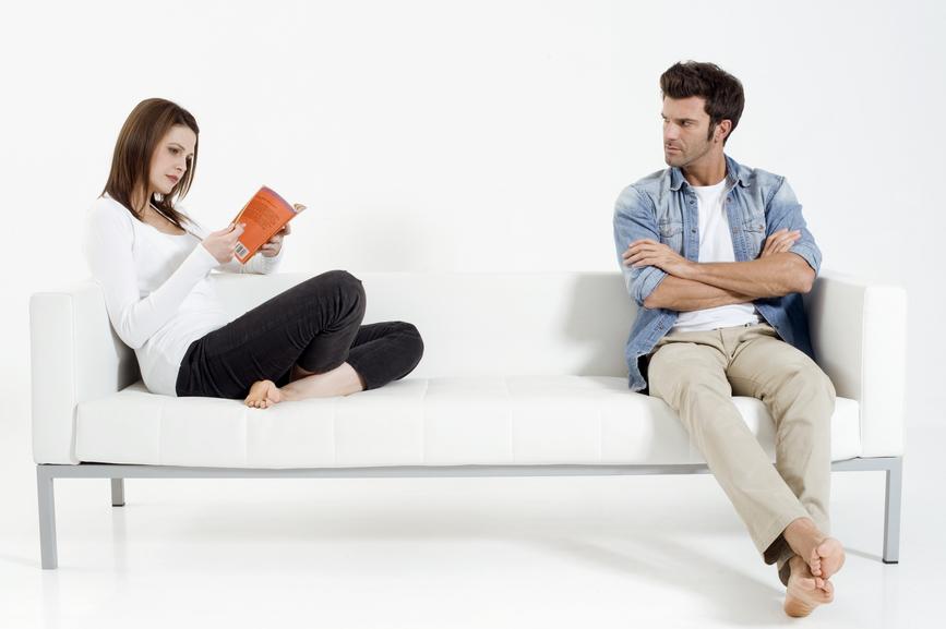 Foto: Trennungsschmerz sollte man alleine zu bewältigen versuchen.