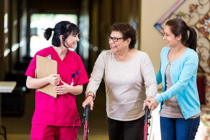 Der richtige Umgang mit Reha-Patienten