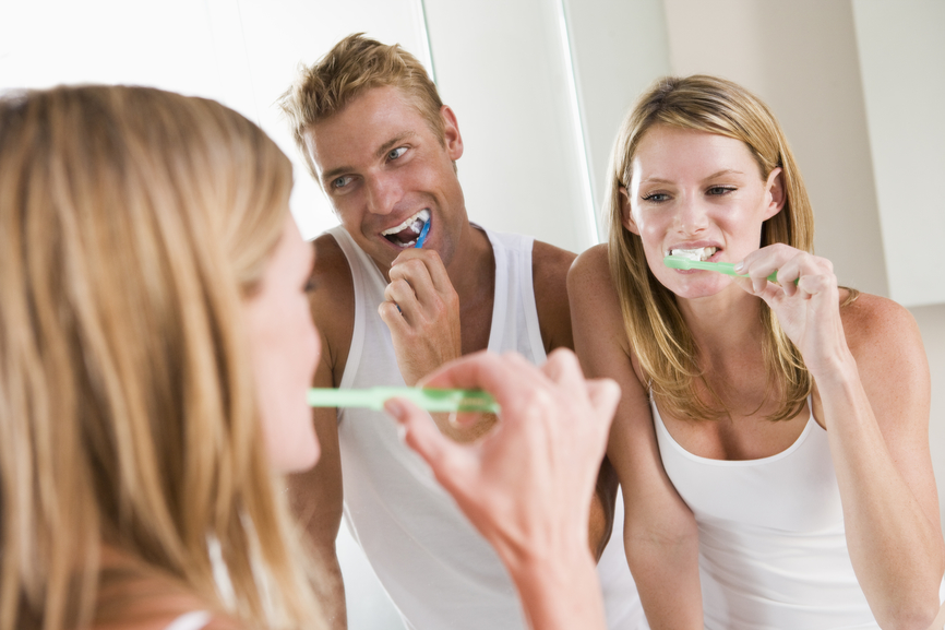 Zahnpflege für schöne Zähne